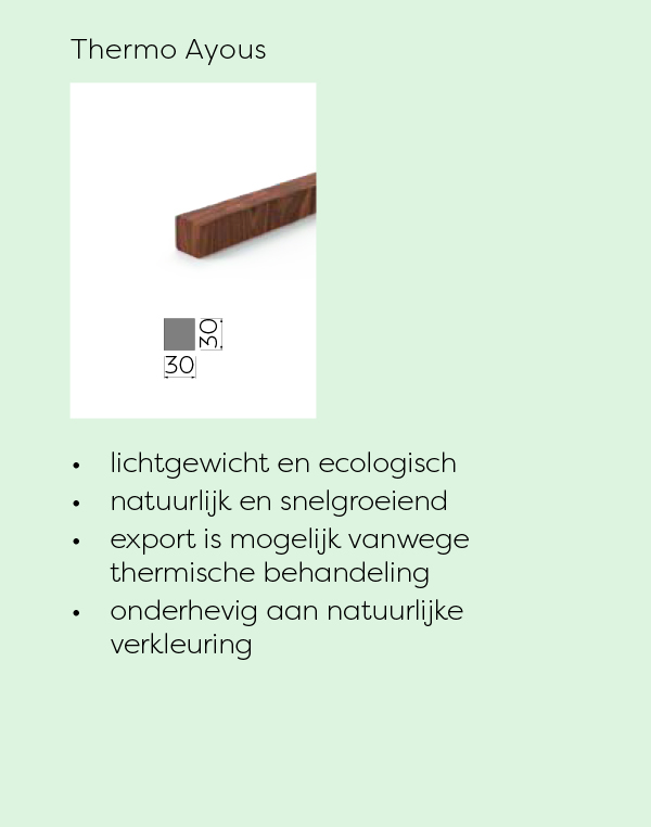 lamellenwand Thermo Ayous